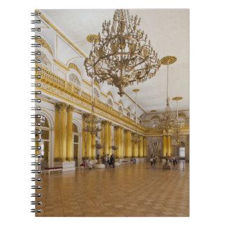 Het Museum van de kluis, Zaal 191, de Grote Zaal Notitieboek