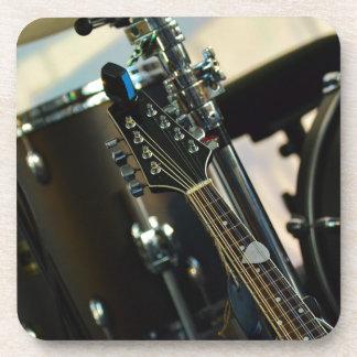 Het Muzikale Instrument van de Gitaar van de Bier Onderzetter