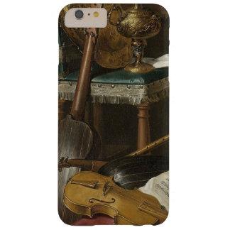 het muzikale instrumenten schilderen barely there iPhone 6 plus hoesje