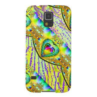Het MYSTIEKE HART JEWELED - Samsunggalaxy Galaxy S5 Hoesje