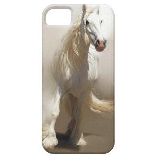 Het mystieke Witte de hoesje-Partner van het Paard Barely There iPhone 5 Hoesje