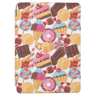 Het Naadloze Patroon van het snoep en van Palooza iPad Air Cover