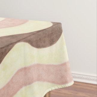 Het Napolitaanse Patroon van het Roomijs Tafelkleed