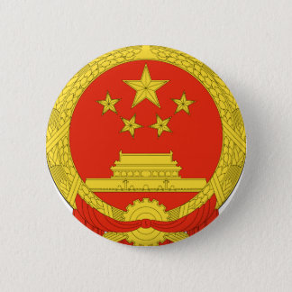 Het Nationale Embleem van China Ronde Button 5,7 Cm