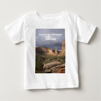 Het Nationale Monument van Colorado, Co Baby T Shirts