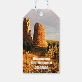Het Nationale Monument van Hovenweep, Co Cadeaulabel