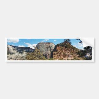 Het Nationale Park Utah van Zion van het Bumpersticker