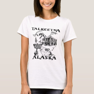 Het Nationale Park van Alaska Denali van Talkeetna T Shirt