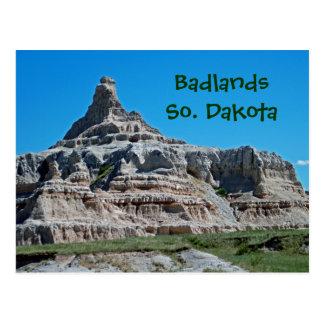 Het Nationale Park van Badlands, Zuid-Dakota Briefkaart