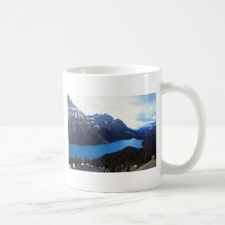 Het Nationale Park van Banff, Alberta, Canada Koffiemok