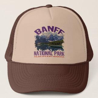 Het Nationale Park van Banff, Alberta Canada Trucker Pet