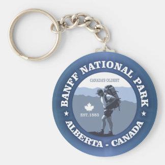 Het Nationale Park van Banff Sleutelhanger