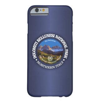 Het Nationale Park van Bellunesi van Dolomiti (c) Barely There iPhone 6 Hoesje