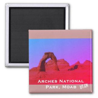 Het Nationale Park van bogen, Moab, Utah Landschap Magneet