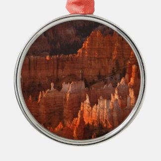Het Nationale Park van de Canion van Bryce Zilverkleurig Rond Ornament