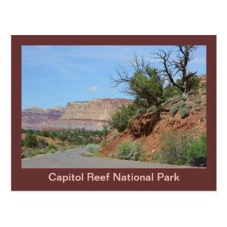 Het Nationale Park van de Ertsader van het Briefkaart