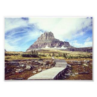 Het Nationale Park van de gletsjer - Logan Pas Foto Print