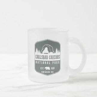 Het Nationale Park van de Holen van Carlsbad Matglas Koffiemok