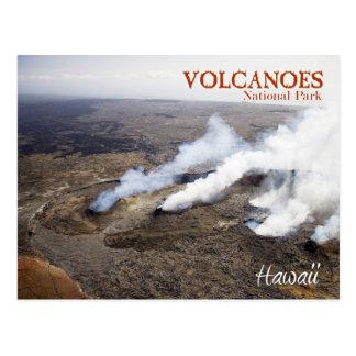 Het Nationale Park van de Vulkanen van Hawaï Briefkaart