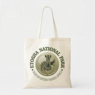 Het Nationale Park van Etosha Budget Draagtas