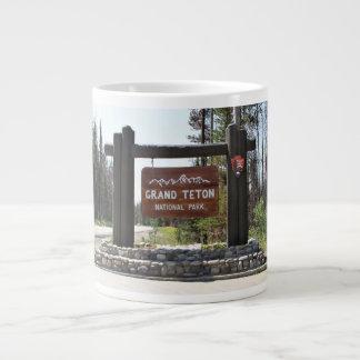 Het Nationale Park van Grand Teton, het Nationale Grote Koffiekop