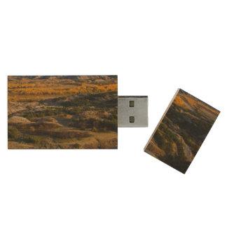 Het Nationale Park van Theodore Roosevelt Houten USB Stick