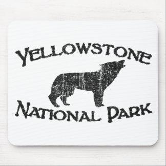 Het Nationale Park van Yellowstone Muismat