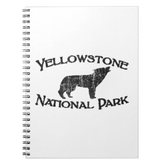 Het Nationale Park van Yellowstone Notitieboek