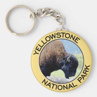 Het Nationale Park van Yellowstone Sleutelhanger
