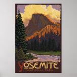 Het Nationale Park van Yosemite - het Halve Poster