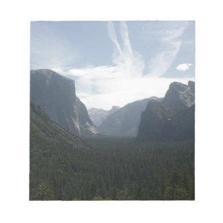 Het Nationale Park van Yosemite Notitieblok
