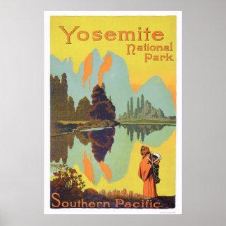 Het Nationale Park van Yosemite Poster
