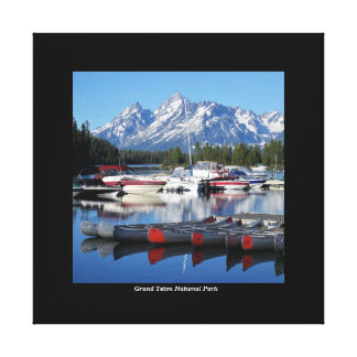Het Nationale Park Verpakte Canvas van Grand Teton