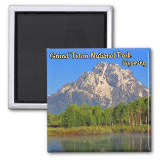 Het Nationale Park Wyoming van Grand Teton Magneet