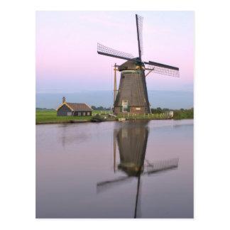 Het Nederlandse Briefkaart van de Windmolen