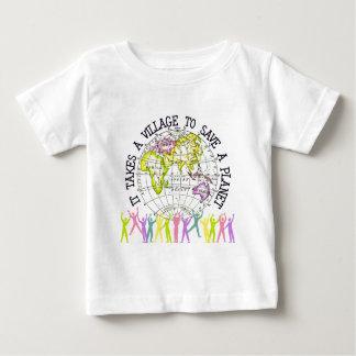 Het neemt een T-shirt van het Baby van het Dorp