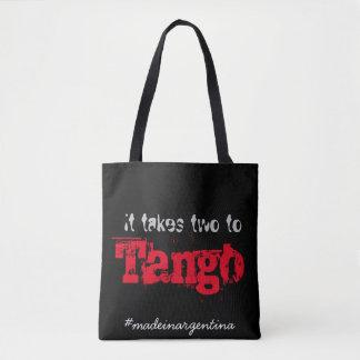 Het neemt twee aan tango draagtas
