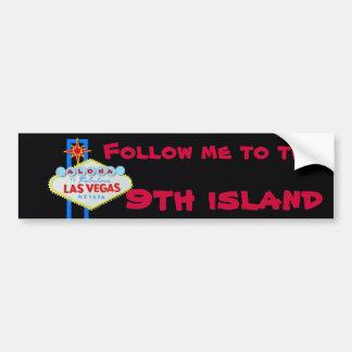 Het Negende Eiland van Hawaï Bumpersticker