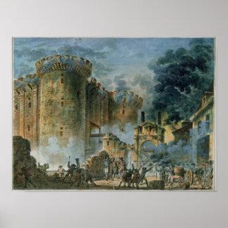 Het Nemen van Bastille, 14 Juli 1789 Poster