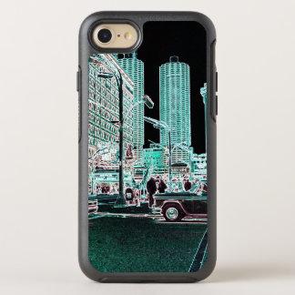 Het Neon van de Straat van de Staat van de Stad OtterBox Symmetry iPhone 8/7 Hoesje