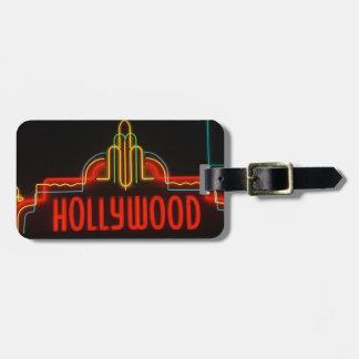 Het neonteken van Hollywood, Los Angeles, Kofferlabel