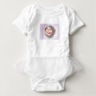 Het nestelen Baby - Bodysuit van de Tutu van het