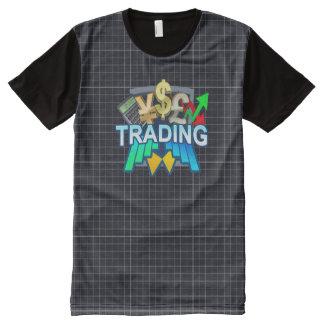Het net van de handel Al Gedrukte T-shirt