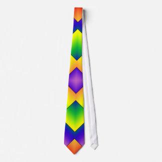 Het Net van de regenboog Custom Stropdas