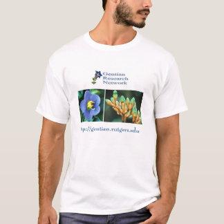 Het Netwerk van het Onderzoek van de gentiaan T Shirt
