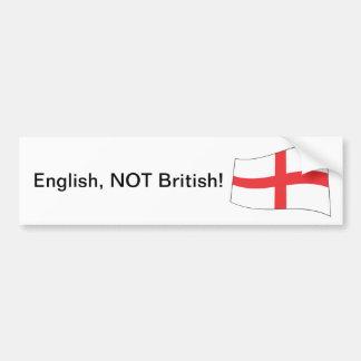 Het NIET Britse Engels! - De Sticker van de bumper
