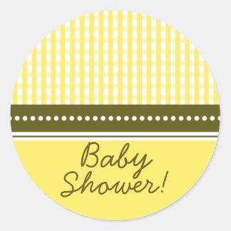 Het Nieuwe Baby van de gingang | Sticker van het B