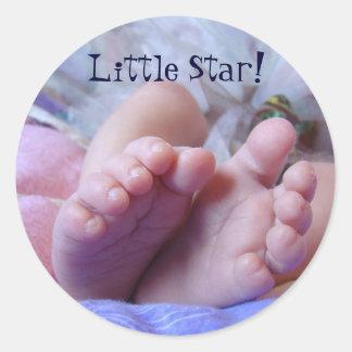 Het Nieuwe Baby van de stickers van de tenen van