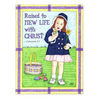 Het nieuwe Leven in het Inspirerend Briefkaart van