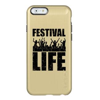 Het nieuwe LEVEN van het FESTIVAL (blk) Incipio Feather® Shine iPhone 6 Hoesje